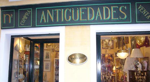 tienda antiguedades